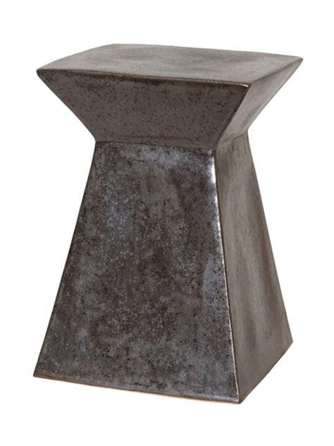 metal garden stool big lots emissary 12993gm upright garden stool gun metal