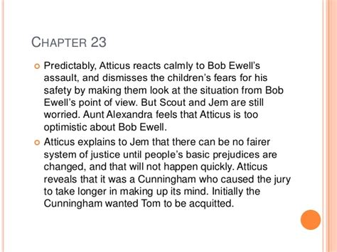 theme of to kill a mockingbird chapter 22 chapter summaries for to kill a mockingbird