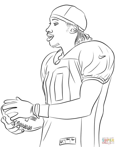 nfl coloring pages robert griffin iii coloring page free printable coloring