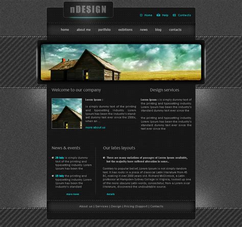 web design layout resolution metal web layout by navanath on deviantart