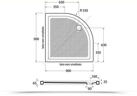 dimensioni piatto doccia angolare doccia angolare misure duylinh for