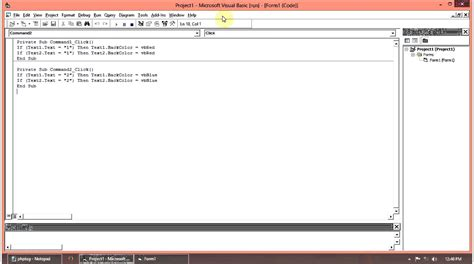 tutorial video visual basic 6 0 visual basic tutorial how to change the background color