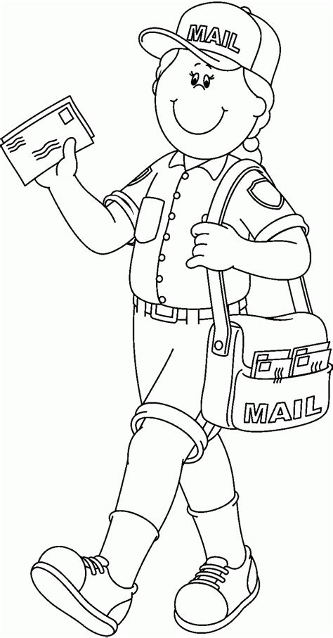 free coloring books by mail mail coloring pages 2461220