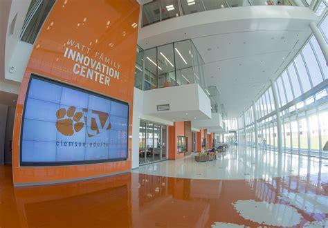 Watt Of The Interior by Philips Unveils Innovative Lighting System At Clemson Archpaper