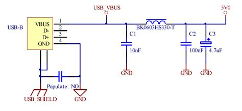 usb capacitor filter voltage regulator isolating power for an infrared receiver electrical engineering stack exchange