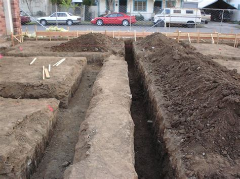 Plumbing Trench by Martin Luther King Park Pool Rehabilitation Project