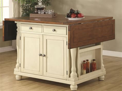 kitchen island decorative accessories furniture ideal movable kitchen island ideas with wings