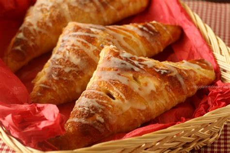 apple turnover caramel apple and pumpkin turnovers recipe dishmaps
