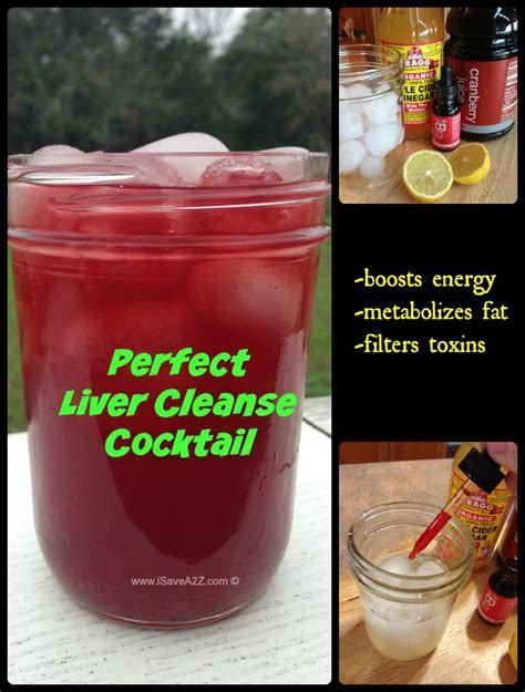 What Can I Do To Detox My Liver by Liver Cleanse Cocktail With An Energy Booster