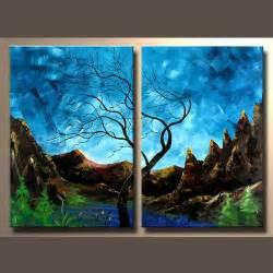 Handmade Nature Paintings - schilderen uitstekende kwaliteit het landschap