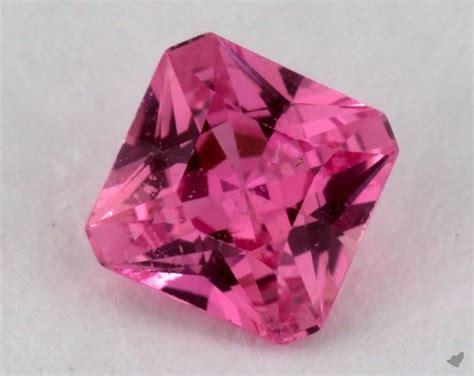 gemstones, pink sapphire, 0.95 carat emerald sku 16696