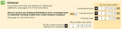 Franking Credit Formula Australia For The Worksheet Australian Taxation Office