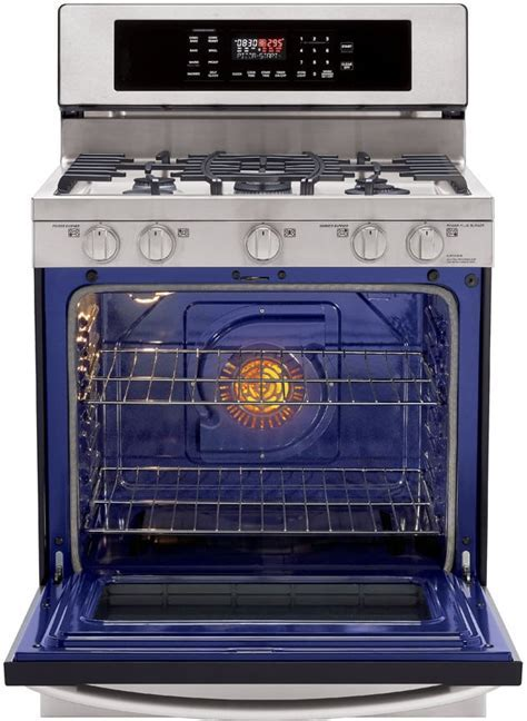 LG LRG3097ST 30 Inch Freestanding Gas Range with 5 Sealed