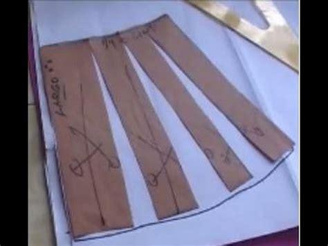 como cortar una falda de cola flamenca youtube falda semi circular youtube