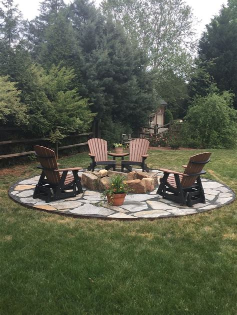 patio firepits 25 best ideas about rustic patio on rustic