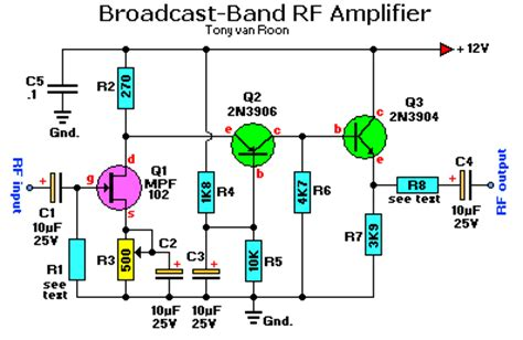 rf transistor lifier design and matching networks rf lifier circuit page 6 rf circuits next gr