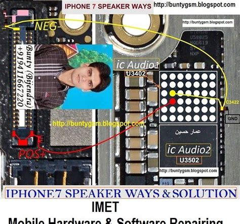 iphone 7 speaker ringer not working problem solution jumper ways http ift tt 2l2sniq http