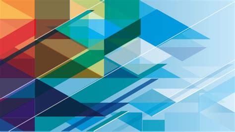 pola segitiga putih biru merah wallpapersc desktop