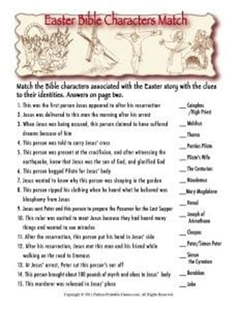 easter famous rabbits trivia 3 95 easter printable easter games packet printable games
