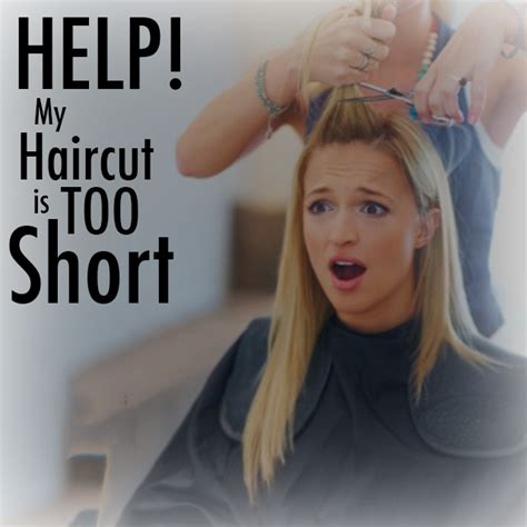 what to do if you think your haircut is too short bangstyle