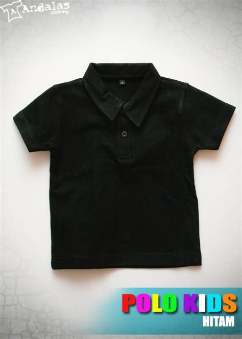 Polo Shirt Anak Anak Bordir by Kaos Polo Shirt Anak Bahan Cotton Pique Grosir Kaos