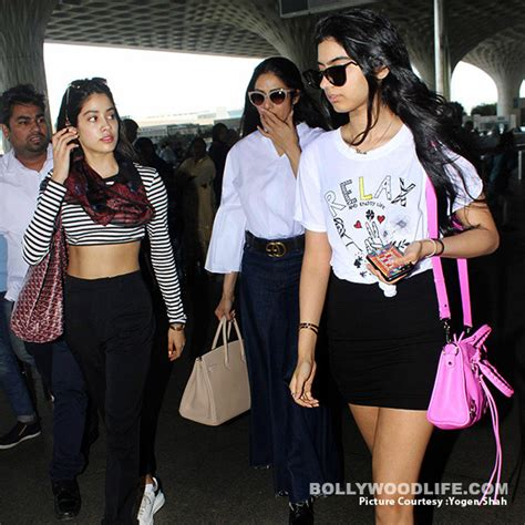 Top Catty Set Skirt Pink sridevi s daughters jhanvi kapoor and khushi kapoor