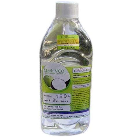 merit vco coconut oil 500ml extra virgin