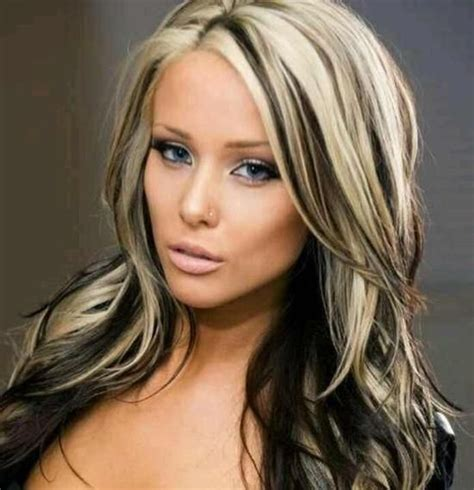 hairstyles blonde dark underneathe 12 edgy chic black and blonde hairstyles pretty designs