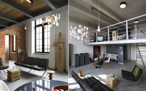 Spanish Style Homes Interior by Modern Industrial Loft In Poland Decoholic
