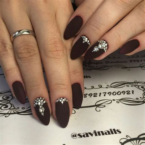 Rhinestone Nails by Nails With Rhinestones Nail Ftempo