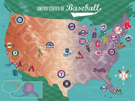 mlb map mlb usa map jigsaw puzzle puzzlewarehouse