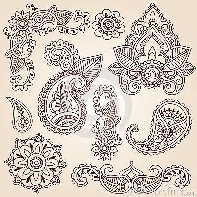 tattoo mandala diseños henna mehndi doodles abstract floral paisley design