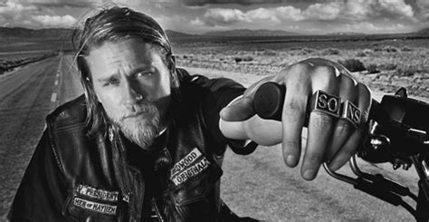 charlie hunnam cant shake his sons of anarchy alter ego as he the inappropriate crush perving is contagious