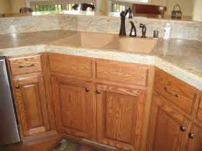 Staining Oak Kitchen Cabinets by Cabinets By Andy Stained Oak Cabinets