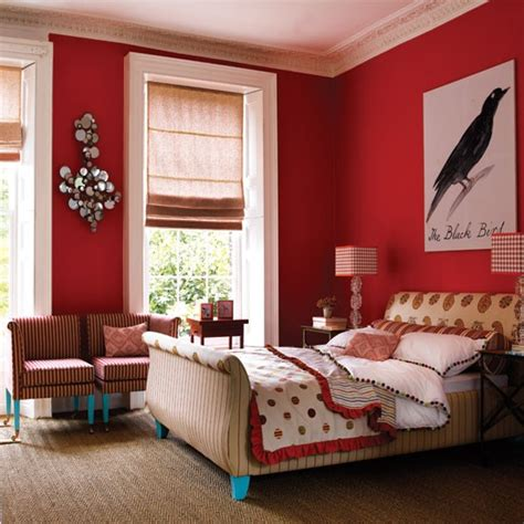 Red Walls Bedroom | feng shui q a all red walls the tao of dana