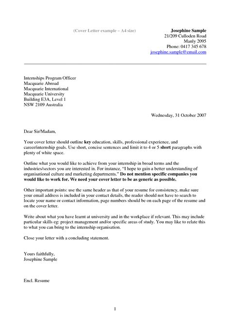 Covering Letter Layout by Cover Letter Layout Australia Cover Letter Templates