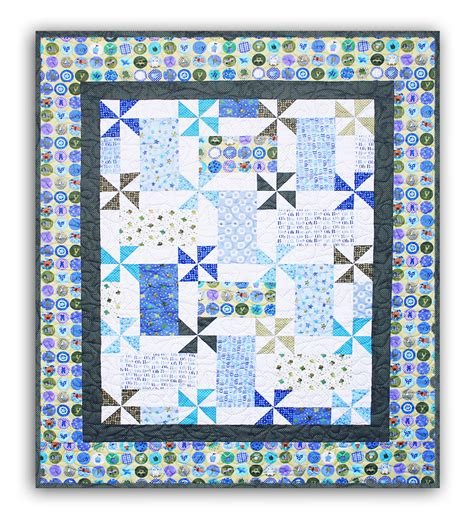 Boy Quilt Pattern by Boys Will Be Boys Quilt Pattern