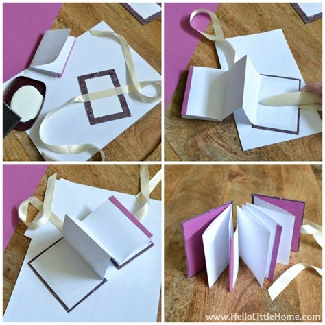 make a picture book diy s day accordion book