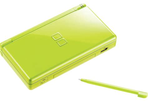 green nintendo ds lite sping bundle revealed gameguru