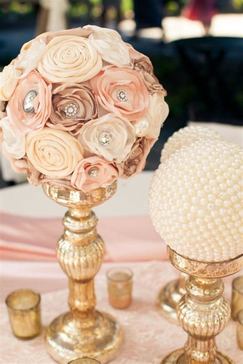 wedding reception centerpieces diy 35 vintage wedding ideas with pearl details tulle chantilly wedding