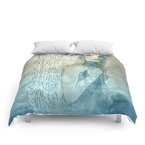 the mermaid bedding comforter set society6 i must be a mermaid comforter set beachfront decor
