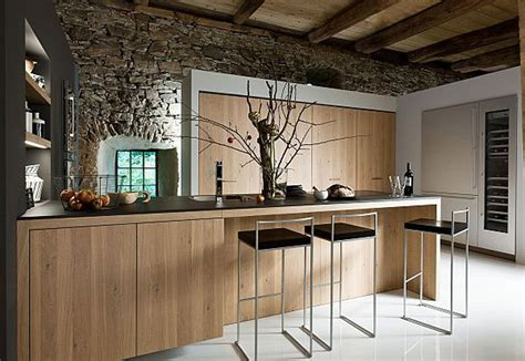 good Modern Kitchens With Islands Ideas #8: Rustic-Modern-Kitchen-Design-with-Bar-Idea-for-Comfy-Look-Rustic-.jpg