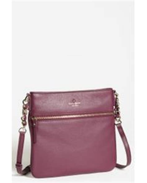 Jual Kate Spade Flower Purple tod s small flower leather crossbody bag burgundy in purple wine cherry lyst