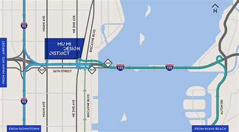 Design House Miami Fl by Driving Directions And Area Map Of The Miami Design