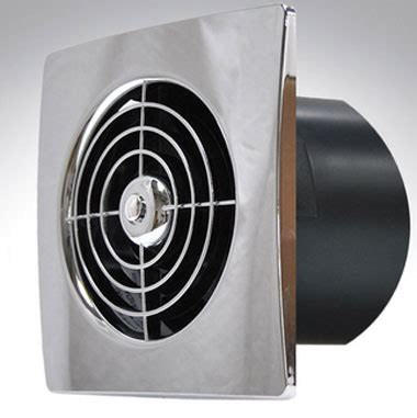 designer metal bathroom extractor fan 100mm 4 quot dia with manrose 100mm chrome slim extractor fan with timer square