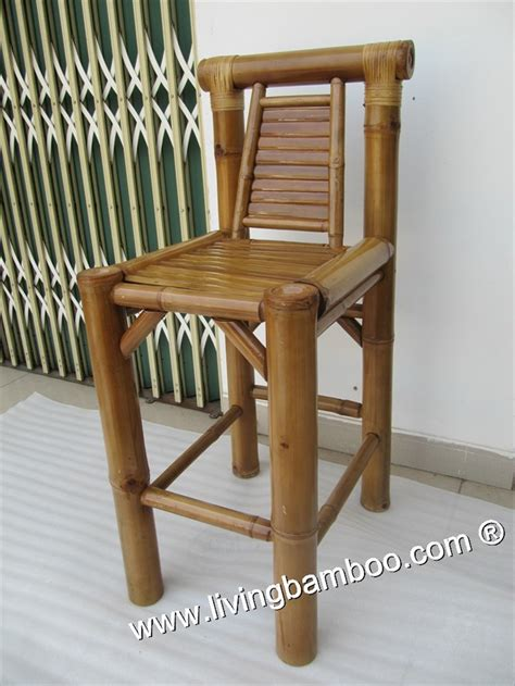 Bamboo Bar Stools Chairs by Optional Title Display