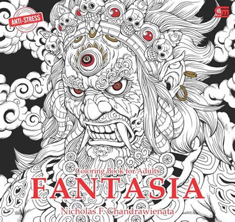 coloring book for adults indonesia anti stress coloring book for adults fantasia coloring