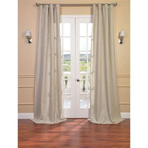 half door panel curtains half price drapes signature birch french linen sheer