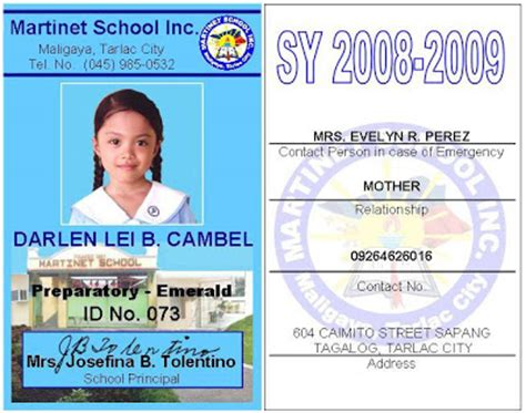 identification card design