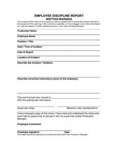 written warning template for attendance best photos of attendance written warning template